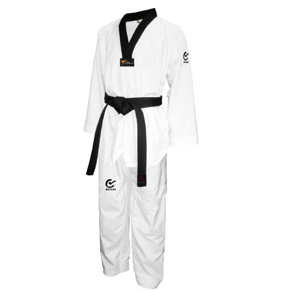 WACOCU FALCON Taekwondo Anzug weiß s/R WT zugelassen