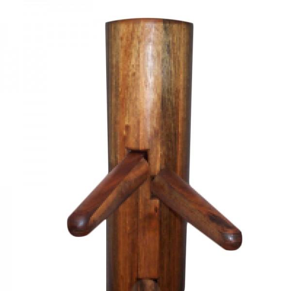 Wooden Dummy Wing Tsun Holzpuppe Nussbaum