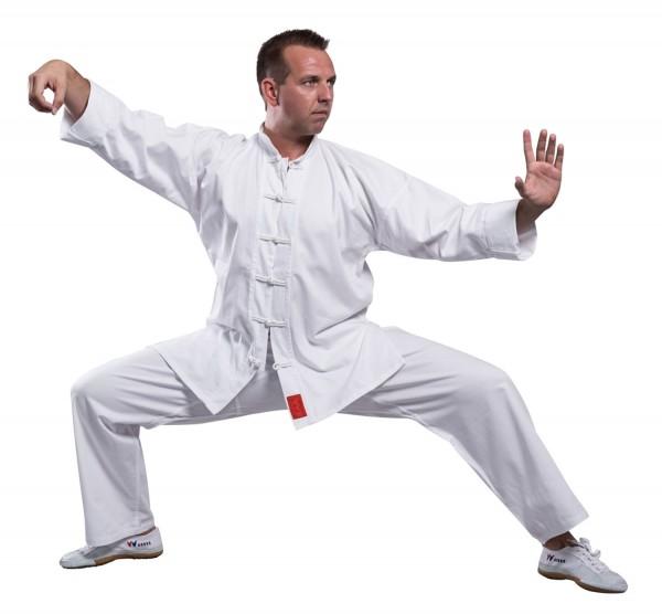 Shaolin Kung Fu Anzug weiß 01