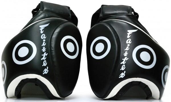 FAIRTEX Oberschenkel Trittpratze schwarz Paar 01