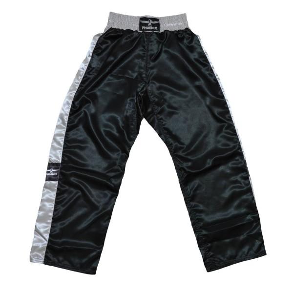 PHOENIX Kickboxhose TOPFIGHT schwarz-grau