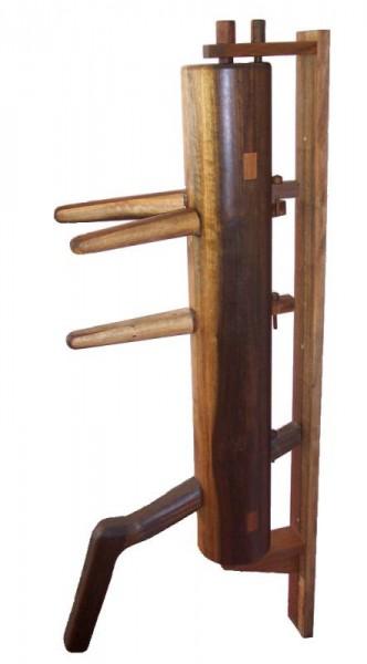 Wing Tsun Holzpuppe Wooden Dummy Nussbaum geölt 01