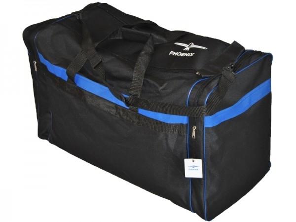 PHOENIX Sporttasche schwarz-blau 01