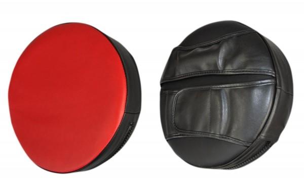 Handpratze rund schwarz-rot | extra weich 01