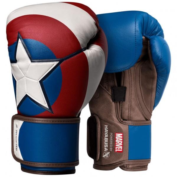 Hayabusa Captain America Boxhandschuhen 10