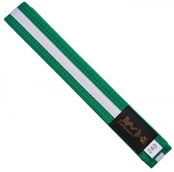 Budogürtel grün-weiß