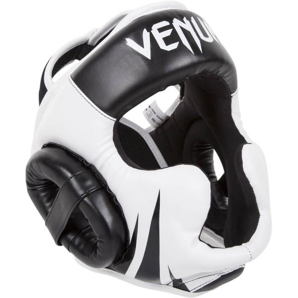 Venum Kopfschutz Challenger 2.0 schwarz-weiß 01