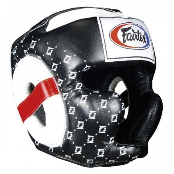 Fairtex HG10 Super Sparring Kopfschutz schwarz