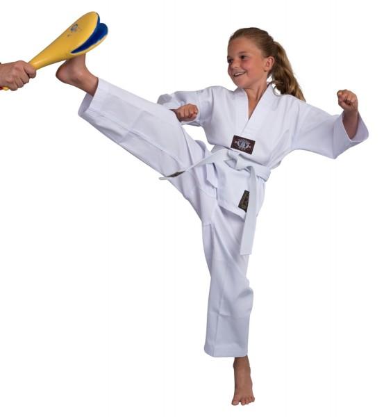BASIC EDITION Taekwondo Dobok Einsteiger weiß 01