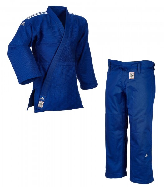 adidas champion 2 judogi blau