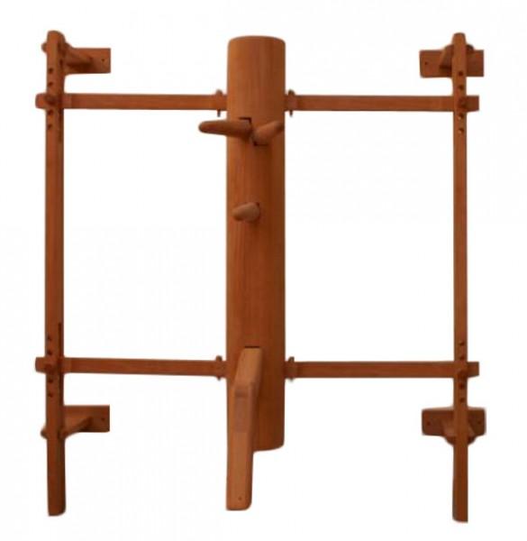 Wing Tsun Holzpuppe, Wooden Dummy inkl. Gerüst