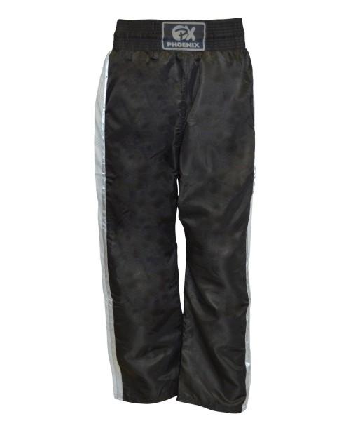 PX Kickboxhose Dynamic schwarz-grau 01