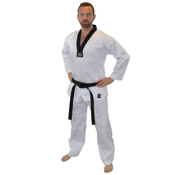 BASIC EDITION MASTER Taekwondo Dobok weiß SR 01
