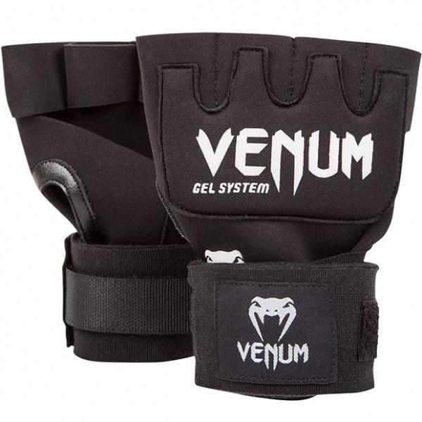 Venum Kontact Gel Handschuhwickel schwarz 01