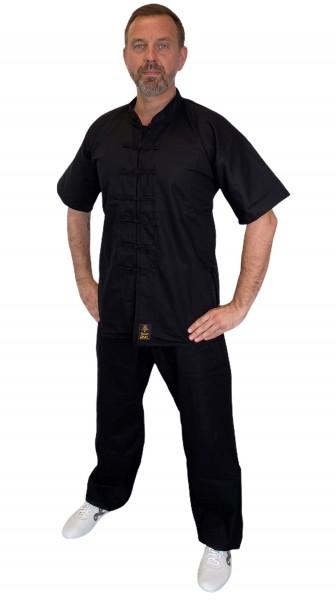 Kung Fu Anzug QUAN schwarz