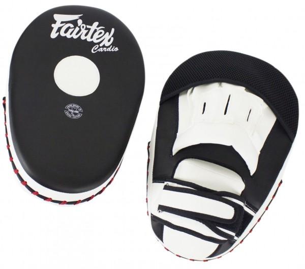 FAIRTEX FMV13 Handpratzen Paar   schwarz-weiß 01