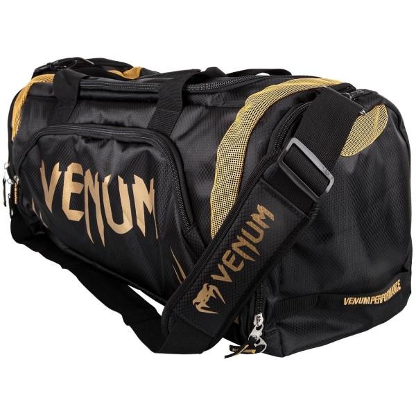 Venum Trainer Lite Sport Bag - Black/Gold 01