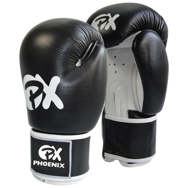 PX Boxhandschuhe WAKO 10oz schwarz-weiß