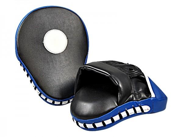 Handpratzen gekrümmt Paar schwarz-blau