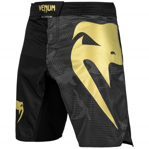 Venum Light Fightshorts schwarz/gold 01