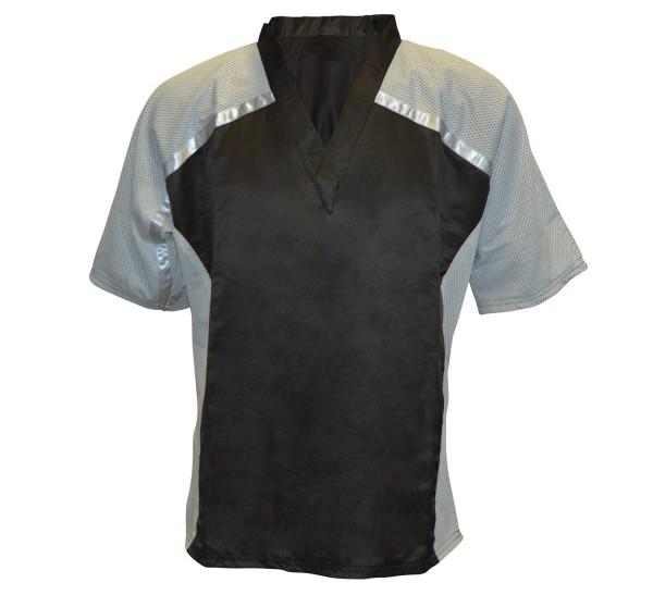 Oberteil Shirt Dynamic Mesh schwarz-grau 01