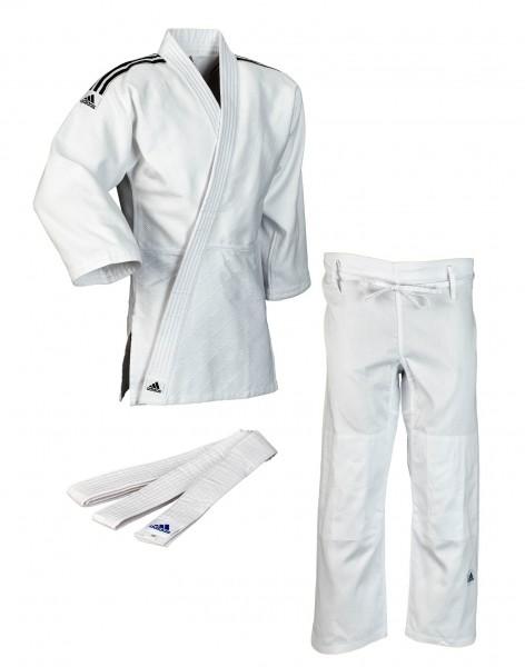 adidas judo training weiss