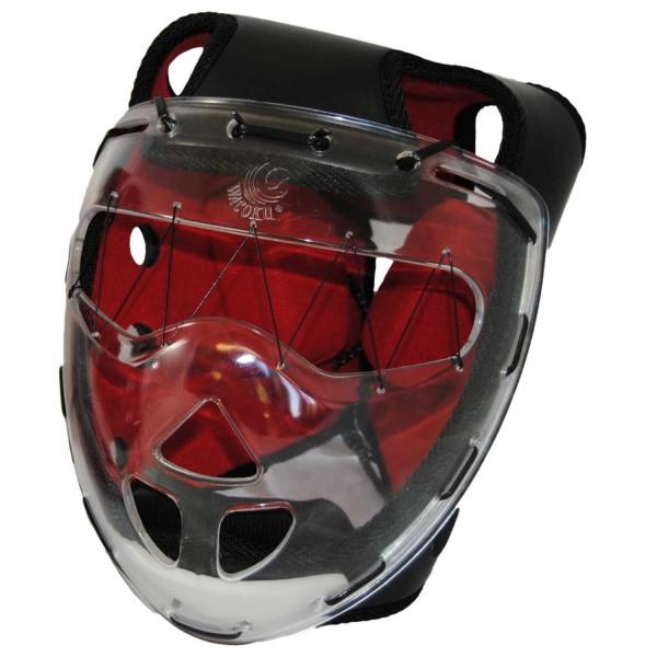 WACOKU Kopfschutz Chanbara schwarz