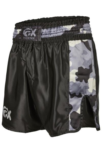 PHOENIX Thai Shorts Contender schwarz-camo 01