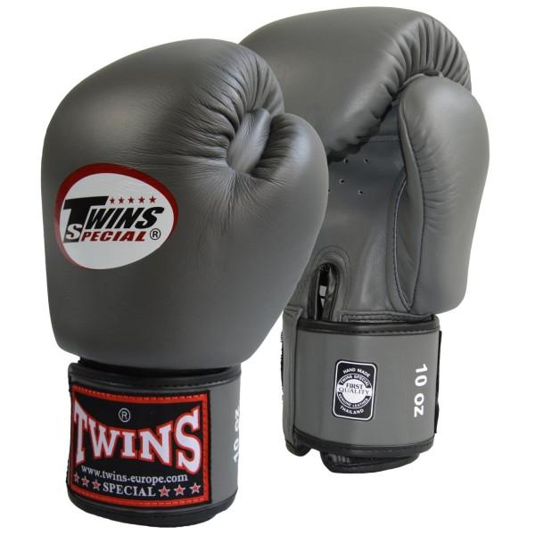 TWINS Boxhandschuh dunkelgrau 01