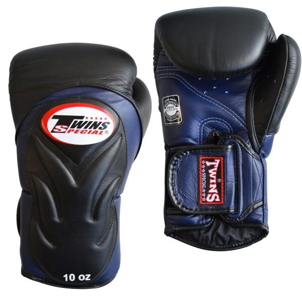 TWINS BGVL 6 Boxhandschuh schwarz-blau 01