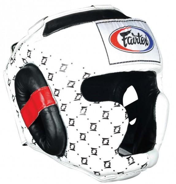 Fairtex HG10 Super Sparring Kopfschutz weiß