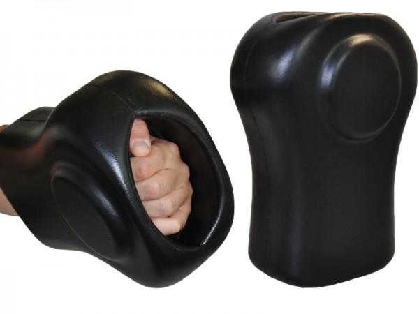 Doppel-Handpratze Instructor schwarz