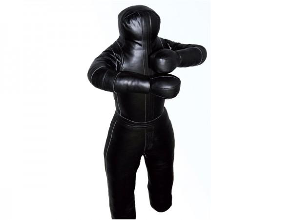 Ringerpuppe-Wrestling Dummy schwarz PU 01