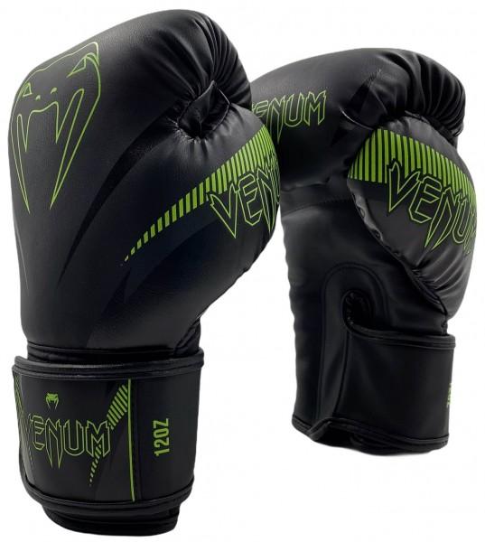 Venum Impact Boxhandschuhe - schwarz / neon gelb 01