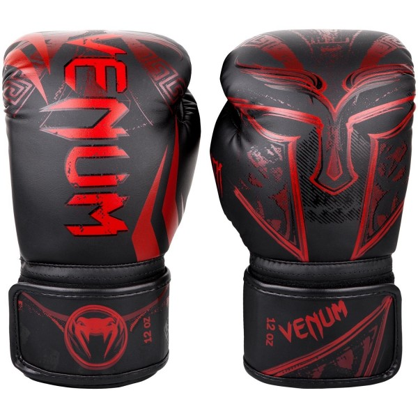 Venum Gladiator 3.0 Boxhandschuhe in schwarz-rot 01
