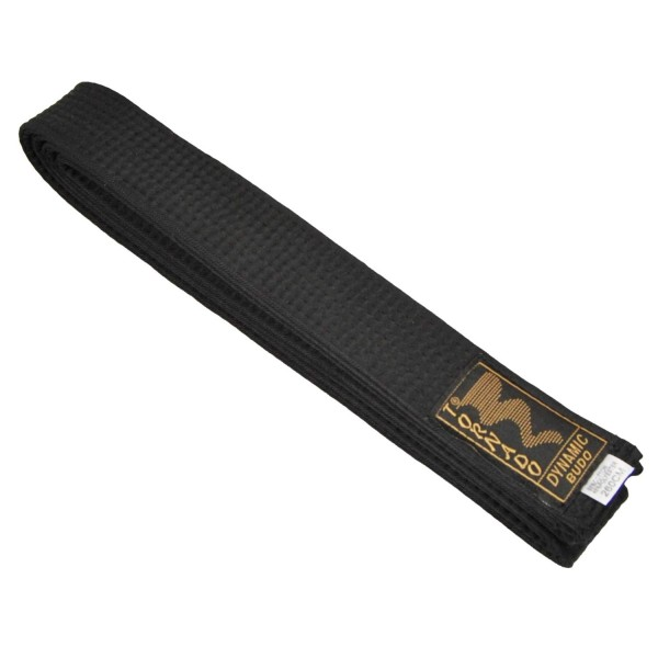 Budogürtel schwarz 5cm breit