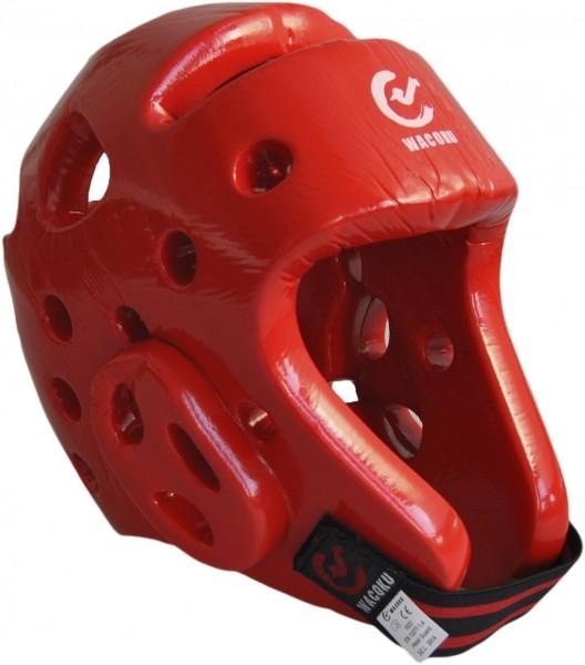 WACOKU WTF-Kopfschutz rot 01
