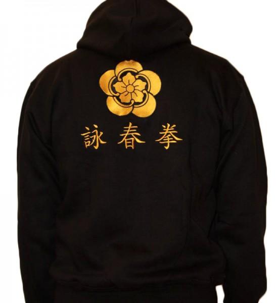 Wing Chun Hoody schwarz 01