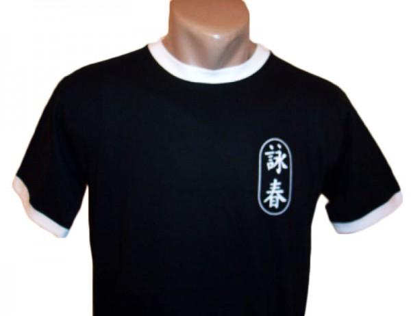Wing Chun T-Shirt schwarz-weiß