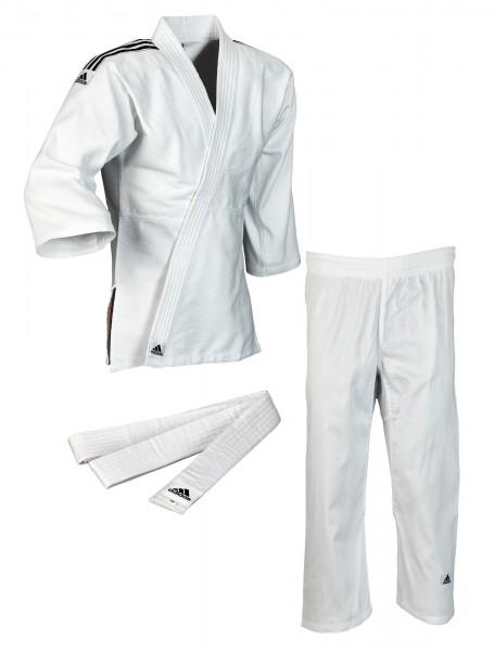 adidas judo club weiss schwarze streifen
