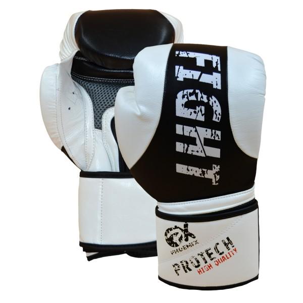 PHOENIX Leder-Boxhandschuh ProTech Fight 01