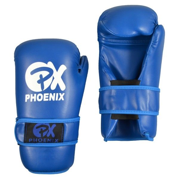PX Pointfighting Open Hands blau Handschutz 01