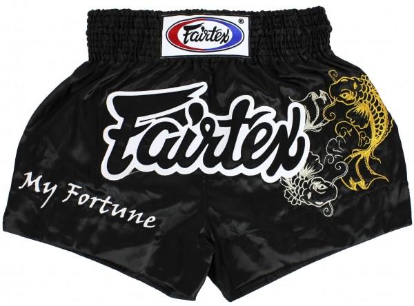 FAIRTEX Thai Shorts schwarz BS0639