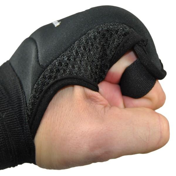 Neopren/Gel Handbandage 190 cm schwarz 01