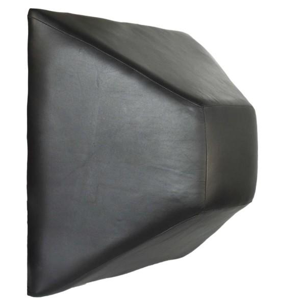 Wandschlagpolster Pyramide Leder 50 cm