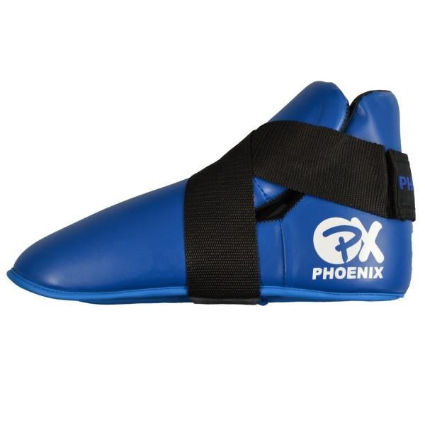 PX Fußschützer Kunstleder blau 01