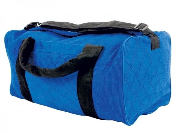Sporttasche aus Judoanzugstoff blau 01