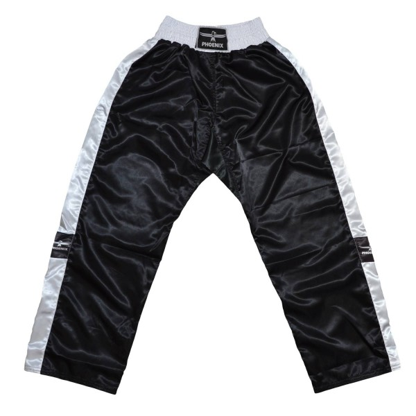 PHOENIX Kickboxhose TOPFIGHT schwarz-weiß