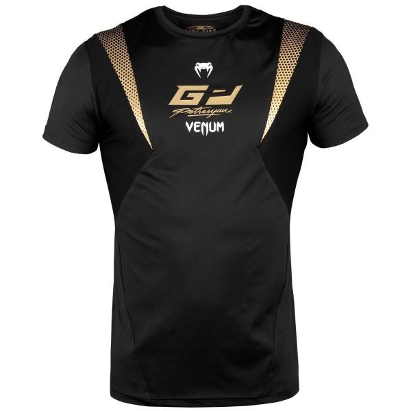 Venum Petrosyan DryTech Shirt schwarz/gold 01