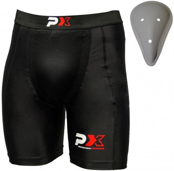 Phoenix Compression Shorts mit Tiefschutz 01